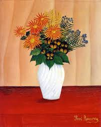 floral art exhibition wallpapers henri rousseau bouquet of flowers tate gallery henri