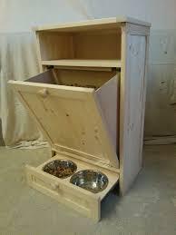Trash Can Storage Cabinet Dog Food Storage Cabinet Storage Decorations