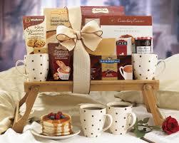 Breakfast Basket Breakfast In Bed Gift Basket Gifts Pinterest Gift Basket