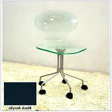 Acrylic Office Chair Duty High Back Executive Class Rolling Office