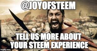 Joy Meme - the joy of steem s project tell us more about your