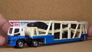 tomica mitsubishi fuso tomica 131 mitsubishi fuso super great transporter long tomica