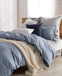 Macys Duvet Cover Sale Dkny Pure Stripe Blue Duvet Covers Bedding Collections Bed
