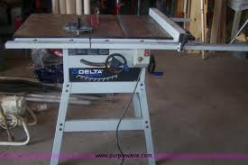 delta table saw for sale delta ts350 10 table saw item e9258 sold septembe
