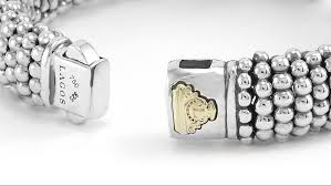 box bracelet clasps images Detailed lagos signature caviar bracelets with the double button png