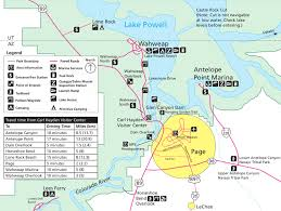 Grand Canyon Arizona Map by Glen Canyon Maps Npmaps Com Just Free Maps Period