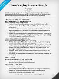 download housekeeping resume samples haadyaooverbayresort com