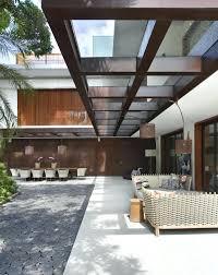 Awning Ideas Patio Roof Ideas Ultra Modern Garden Design Awning Brown Metal