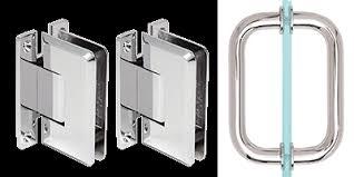 crl shower door hinge and handle or pull sets handson co door