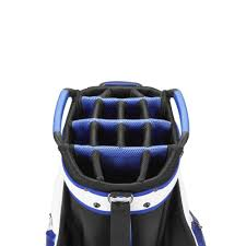 amazon com mizuno golf pro cart bag black white sports u0026 outdoors