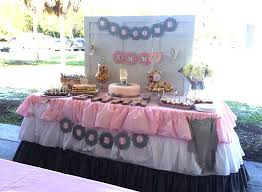 Baby Shower Table - table linens for baby shower an amazing thing home and textiles