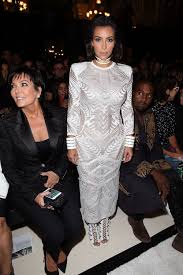 kim kardashian u0027s front row evolution