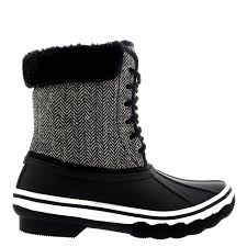 womens boots rubber sole womens rubber sole tread winter textile fur cuff