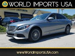 luxury mercedes sedan used 2015 mercedes benz c300 luxury sedan for sale in jacksonville