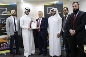 bureau veritas qatar elan media s print house receives iso ohsas certifications from