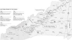 Raleigh Nc Map Blue Ridge Parkway Ncpedia
