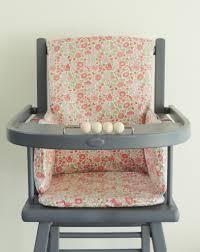 assise chaise haute coussin de chaise haute en liberty enduit coussin demeure des anges