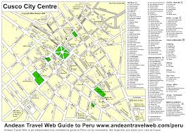 Lima Map Peru Attractions Peru Maps A Selection Of Visitors Maps Of The