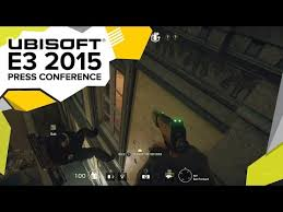 siege conference tom clancy s rainbow six siege demo e3 2015 ubisoft press