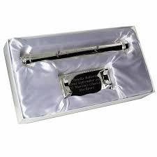 wedding certificate holder engraved silver plated christening certificate holder