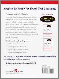 buy schaum u0027s 3 000 solved problems in physics schaum u0027s outlines
