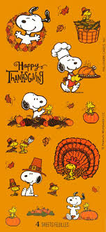 peanuts happy thanksgiving clipart clipartxtras