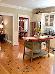 red dining rooms pine wood flooring farmhouse country style kitchen with red