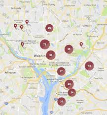 Washington Dc Neighborhood Map by Map Where To Find Subsidized Housing In D C