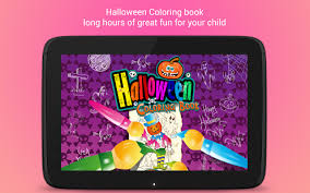 halloween coloring book android apps google play