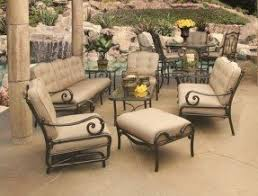 Patio Table Sets Cast Aluminum Patio Furniture Sets Foter