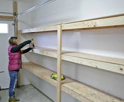 great plan for garage shelf do it yourself home projects from ana