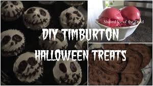 diy tim burton halloween treats youtube