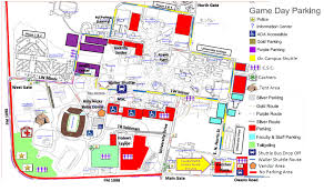 University Of Houston Campus Map Special Events Parking Auxiliary Services