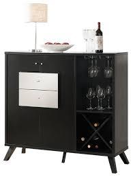 Buffet Furniture Modern by 151287 Smart Home Modern Black Faux Croc Side Board Buffet Table