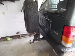 rear bumper tire carrier lost of pictures jeep cherokee forum