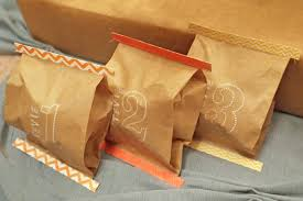 brown gift wrapping paper feed bag gift wrap