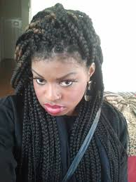 parting hair when braiding a ball 72 box braids hairstyles with instructions and images beautified