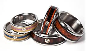 Contemporary Wedding Rings by Modern Wedding Bands For Him And Him Canada Weddings