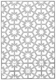 islamic patterns coloring designs patterns