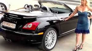 chrysler crossfire srt6 cabriolet youtube