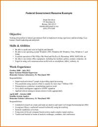 Sample Government Resume by Government Resume Examples