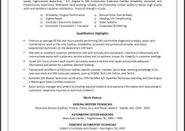 Automotive Technician Resume Samples by Ezhostus Pretty Resume Sample Resume And Search On Pinterest With