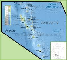Us And Canada Physical Map by Vanuatu Maps Maps Of Vanuatu