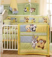 Nursery Bedding Set Baby Looney Tunes Baby Crib Bedding 4 Set Baby Nursery Bedding