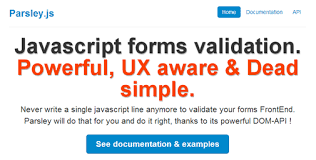 parsley pattern js parsley js powerful ux aware dead simple javascript forms