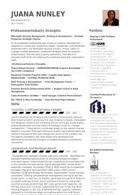 property management resume property management resume sles visualcv resume sles database