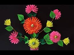 Craft For Home Decor Diy Projects How To Make Beautiful Paper Dahlia Craft For Home
