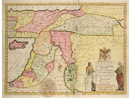 Map Of Middle East And Asia by A New Map Of The Eastern Parts Of Asia Minor Wells 1712