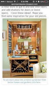 Entertainment Bar Cabinet 22 Best Bar Armoires Images On Pinterest Armoire Bar Repurposed