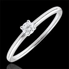 18 carat diamond ring yes solitaire ring 0 1 carat edenly jewelery